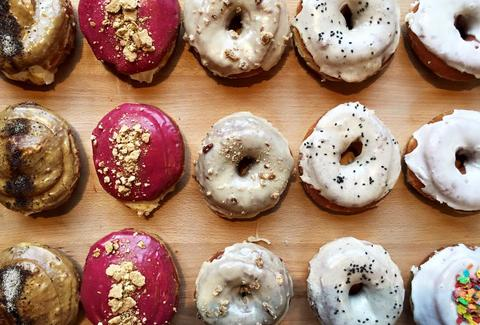 Creative donuts and great breakfast at DISTRICT in New Orleans
