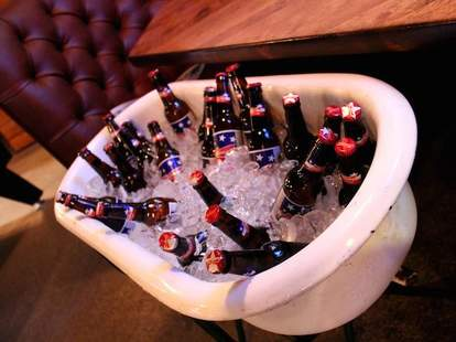 San Francisco Athletic Club bathtub beers