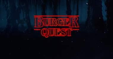 burger quest stranger things