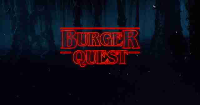 burger quest stranger things