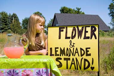 Children's Lemonade Stand