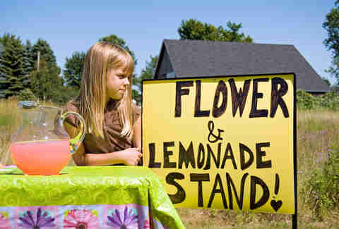 Children's Lemonade Stand