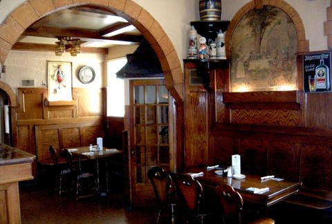 German pub food and beer at Dakota Inn Rathskeller in Detroit
