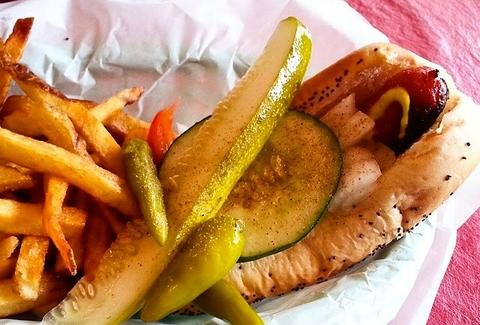 Murphy's Red Hots Chicago hot dog