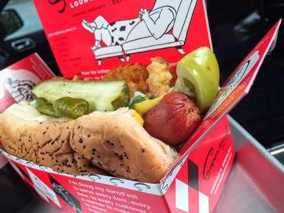 Superdawg hot dog Chicago