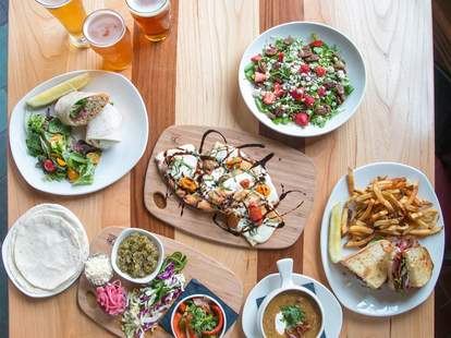 Great craft beer and sustainable food at Bell's Eccentric Cafe in Michigan