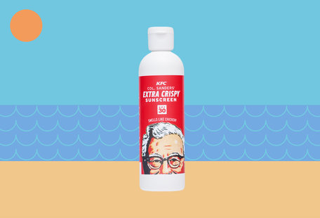 KFC\'s New Sunscreen Will Make You Smell Like Fried Chicken