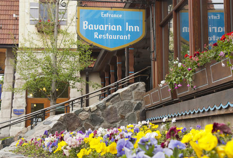Authentic German cuisine and hotel at the Bavarian Inn of Frankenmuth Michigan