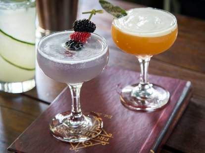 Speakeasy cocktails and swing dancing at Prohibition in Charleston SC