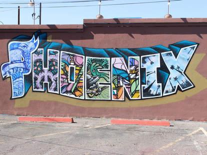 Street art in Phoenix