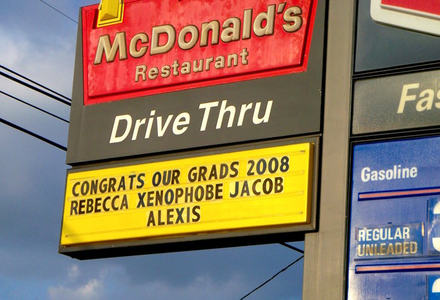 The Funniest Fast-Food Sign Fails