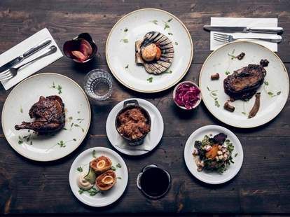 Swedish smokehouse with cured meats in Islington London
