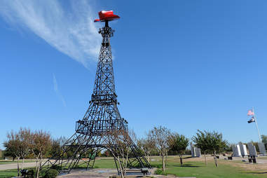 Mini Eiffel Tower Texas