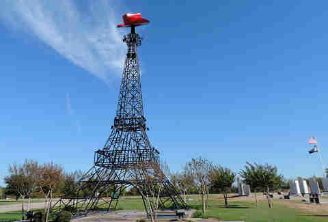 Mini Eiffel Tower Texas