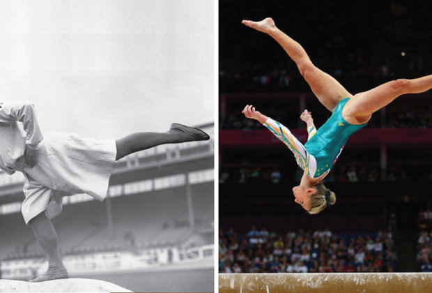 22 Photos That Show How the Olympics Changed in 100 Years