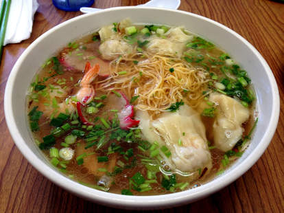 Vietnamese food and pho noodles at Pho Lucky in Midtown Detroit