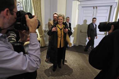 Photographers and Hillary Clinton
