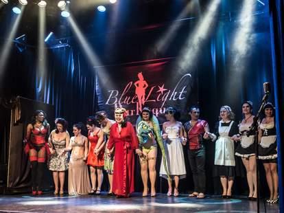 Blue Light Burlesque Montreal Cabaret