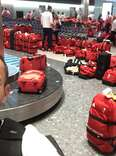 Team Great Britain Red Bags Rio 2016