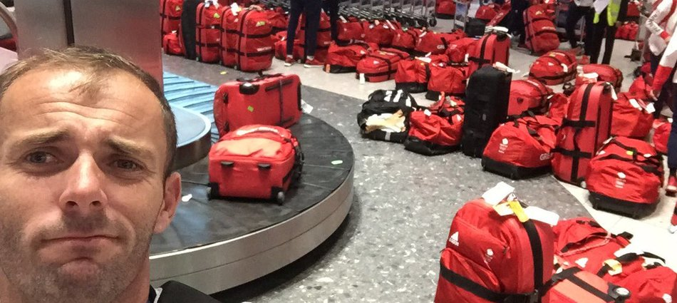 Every British Olympian Had the Same Suitcase, Which Caused This Scene