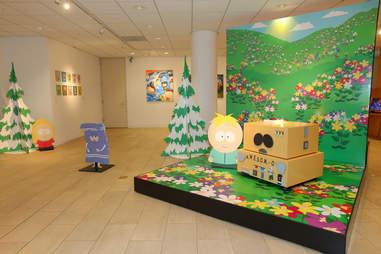south park exhibit