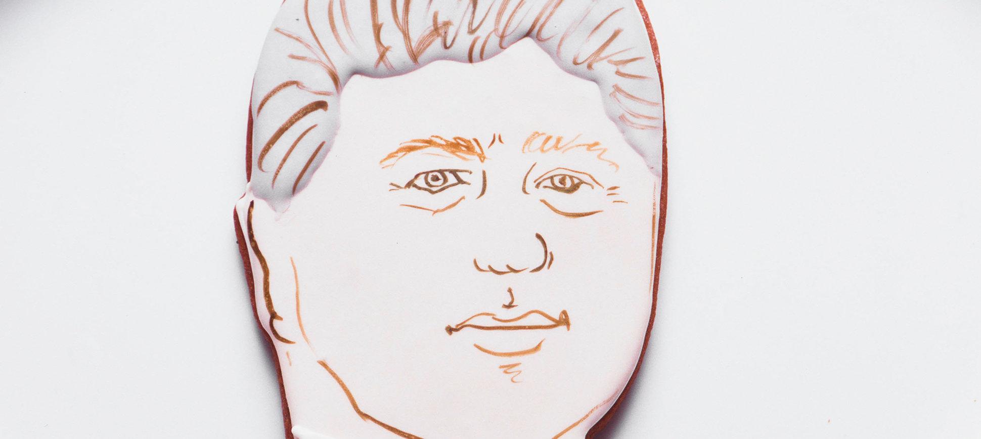 Bill Clinton Bakes Cookies, Makes History