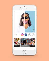 prism photo app in iphone 6