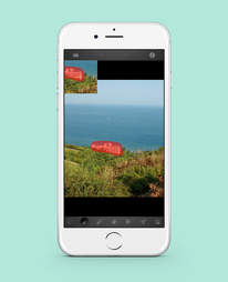 touch retouch app in iphone 6
