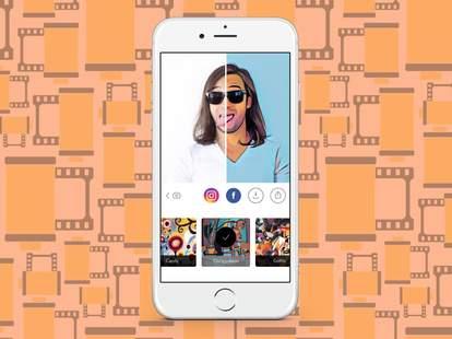prism phot app in iphone 6