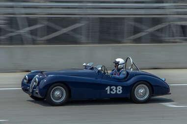 Jaguar XK120 Race Car