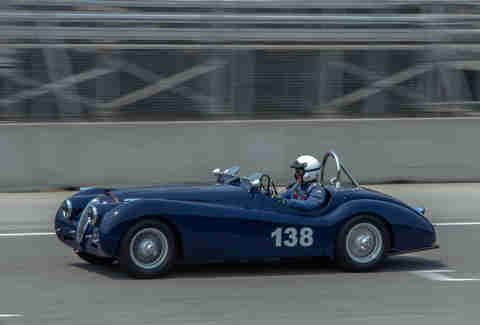 Jaguar XK120 Race Car