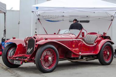 Classic Alfa Romeo Race Car