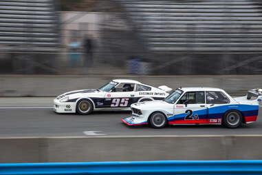 Nissan vs BMW Race Cars