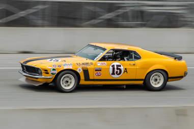 Boss Mustang Race Car