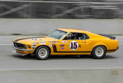 Boss Mustang Race Car