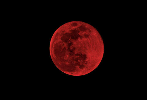 blood moon nibiru theory