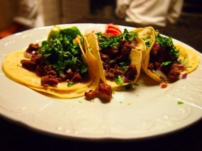 Mexican Italian food at El Barzon in Detroit