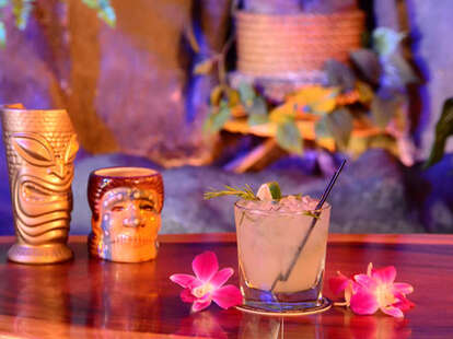Tiki cocktails and bar bites at Forbidden Island Alameda