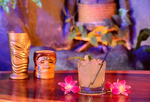 Tiki cocktails and bar bites at Forbidden Island Alameda