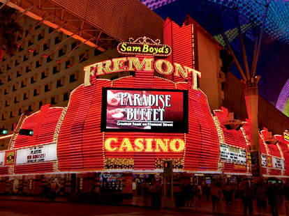 Iconic resort and gambling at the Fremont in Downtown Las Vegas