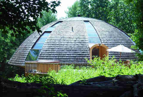 Dome house