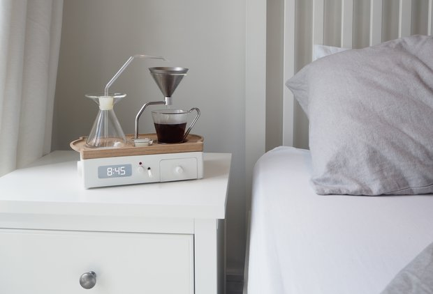 This Alarm Clock Brews Coffee, Everything Is Beautiful & Nothing Hurts