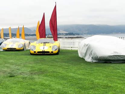 GT40s in Pebble Beach