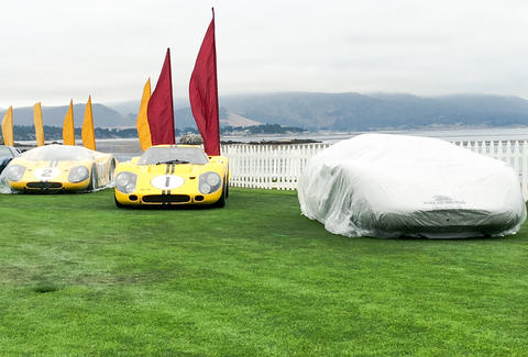 GT40s in Pebble Beach