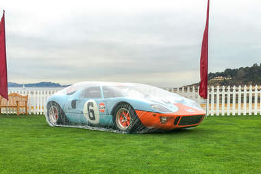 The 1968 and 1969 Le Mans Winning GT40