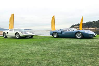 GT40s at Pebble Beach