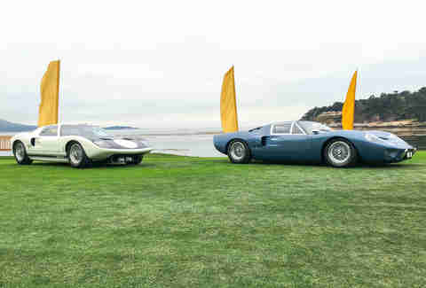 GT40s at Pebble Beach