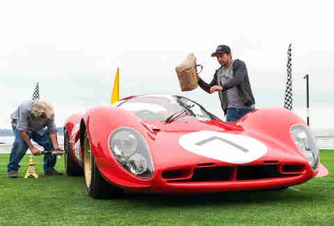 Ferrari P4 at Pebble Beach