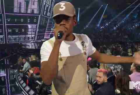 Chance the Rapper MTV VMAs
