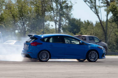 2017 Ford Focus RS Drift Mode
